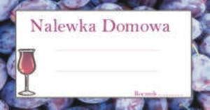 Etykieta MAŁA ŚLIWKA - 1szt - 2842064247