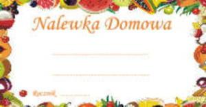 Etykieta MAŁA OWOCE - 1 szt - 2856232686