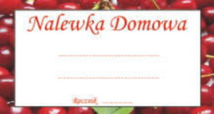 Etykieta MAŁA - WIŚNIE 1szt - 2856232687
