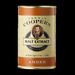 Coopers ekstrakt słodowy bursztynowy 1,5kg - 2852746281