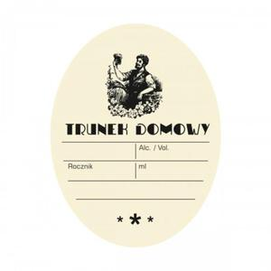 Etykieta owalna TRUNEK DOMOWY BAHUS - 2885899500