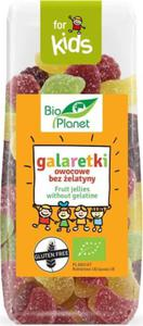 GALARETKI OWOCOWE BEZ ŻELATYNY BIO 100 g - BIO PLANET - 2856455814