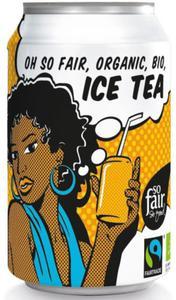 ICE TEA FAIR TRADE BIO 330 ml (PUSZKA) - OXFAM - 2832066343