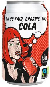 COLA FAIR TRADE BIO 330 ml (PUSZKA) - OXFAM - 2832066348