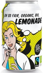 LEMONIADA FAIR TRADE BIO 330 ml (PUSZKA) - OXFAM - 2832066357