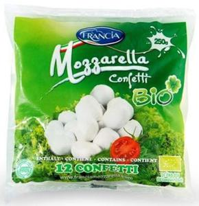MOZZARELLA (12 małych kulek) BIO 250 g - FRANCIA - 2856224898