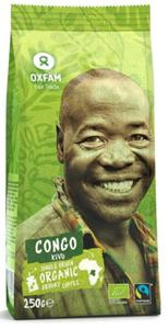Kawa mielona arabica z okolic jeziora Kivu FAIR TADE BIO 250 g - OXFAM - 2832067414