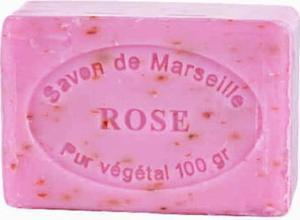 Mydło Marsylskie Płatki Róży kostka 100g CosmoSPA - 2832067822