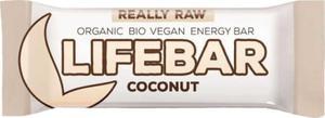 Baton kokosowy raw bezglutenowy BIO 47 g - Lifefood - 2858150871