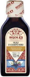 Olej z czarnuszki z czarnego kminu tłoczony na zimno nierafinowany 100ml BIOOIL - 2842134327