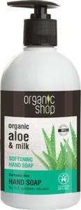 Mydło w płynie do rąk zmiękczające barbadoski aloes 500 ml - ORGANIC SHOP - 2896703138