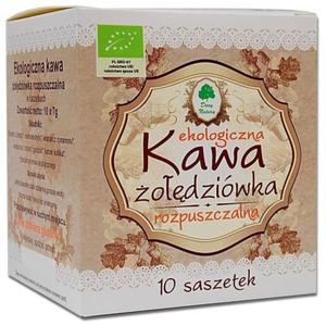 KAWA ŻOŁĘDZIÓWKA ROZPUSZCZALNA W SASZETKACH BIO 70 g (10 x 7 g) - DARY NATURY - 2850408858