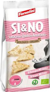 Chrupki gryczane piramidki z quinoa i amarantusem bezglutenowe BIO 80 g - FIORENTINI - 2883217604