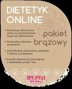 Dietetyk Online Pakiet Brązowy - 2854170490