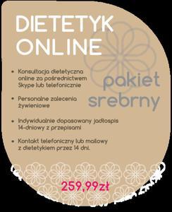 Dietetyk Online - Pakiet Srebrny - 2854170491