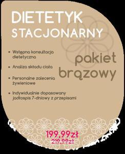 Dietetyk Stacjonarny - Pakiet Brązowy - 2854170493