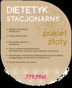 Dietetyk Stacjonarny - Pakiet Złoty - 2854170495