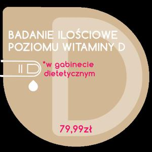 Badanie ilościowe poziomu witaminy D w gabinecie dietetycznym - 2854170508