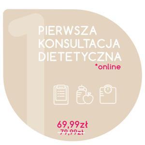 Pierwsza konsultacja dietetyczna online - 2854170512