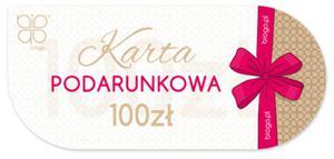Karta podarunkowa voucher prezent Biogo 100zł - 2873867541