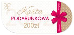 Karta podarunkowa voucher prezent Biogo 200zł - 2873867542