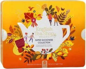 Zestaw herbatek Super Goodness Collection w ozdobnej puszce BIO 61,5 g English Tea Shop - 2861185930