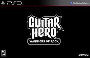 Guitar Hero WARRIORS OF ROCK BUNDLE SOF + GIT - 2824919748