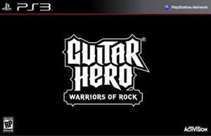 Guitar Hero WARRIORS OF ROCK SOFT ONLY - 2824919749