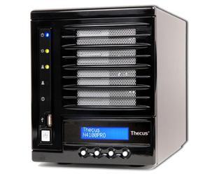 N4100PRO 4HDD 2xGBLAN 256MB/3USB/LCD/IP CAM20 - 2824920625