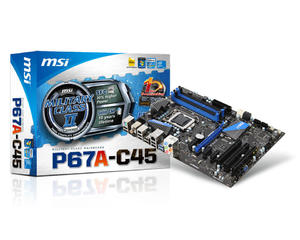 P67A-C45 S1155 P67 4DDR3 RAID/FIRE/USB3 ATX - 2824918115