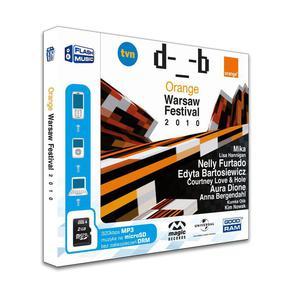 Goodram microSD 2GB + 1 adapter MUSIC ORANGE WARSAW FESTIVAL - 2824921512