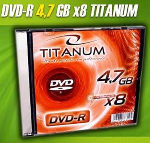 DVD-R Titanum [ slim jewel case 1 | 4.7GB | 8x ] C9740042 - 2824915140