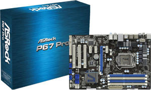 P67 PRO S1155 P67 4DDR3 RAID/GLAN/8CH ATX - 2824912423