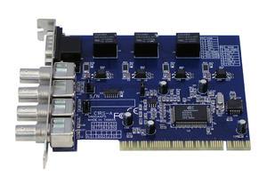 Karta DVR SDVR-408LX 4 kanały 25 fps