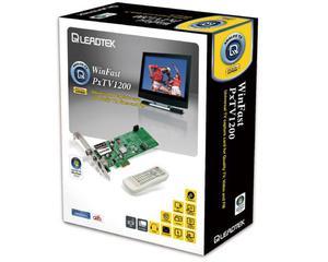 Tuner TV WINFAST PxTV1200 (TV analog, radio FM) (karta PCI Express x1)