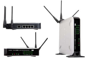 WRVS4400N router xDSL WiFi N300 (2.4GHz) MIMO 1xWAN 4x1GB LAN VPN Security - 2824913283
