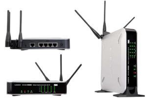 WRVS4400N router xDSL WiFi N300 (2.4GHz) MIMO 1xWAN 4x1GB LAN VPN Security - 2824913283