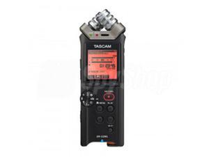 Profesjonalny, kieszonkowy dyktafon Tascam DR-22WL z WiFi - 2859865389
