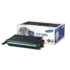 Samsung toner CZARNY CLP-610ND, CLP-660N, CLP-660ND, CLX-6200FX, CLX-6200ND, CLX-6210FX, CLX-6240FX (2500 stron) CLP-K660A - 2824487660