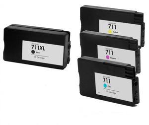 Zestaw tuszy do HP Designjet T120, T520 CMYK CZ130/1/2/3 - 2824682017