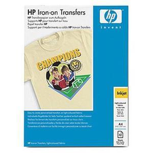Papier HP Iron-On T-Shirt Transfers,A4,12szt-specjalny papier do wprasowania w - 2824484529