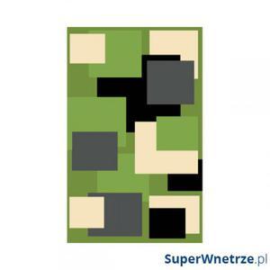 Dywan FIRE 280x370 411 GREEN BLACK 6312 - 2857343769