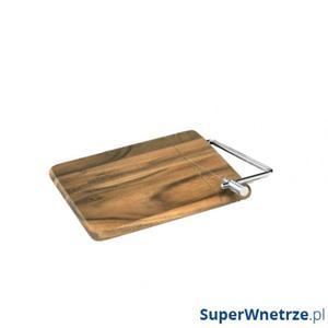 Deska z nożem do sera 25 x 18 cm Zassenhaus akacja - 2834091563