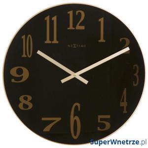 Zegar 43 cm NeXtime Mirror Glass - 2843253582