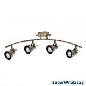 Lampa ścienna LightPrestige Bolzano 4 elementy patyna - 2838770780