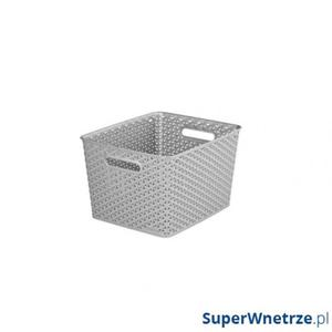 Koszyk L Curver My Style srebrnoszary - 2857491625