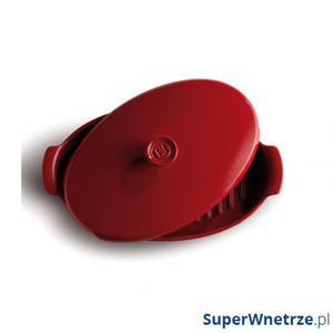 Naczynie do pieczenia we własnym sosie PAPILOTTE Emile Henry czerwone - 2844549111
