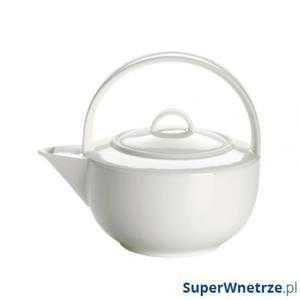 Dzbanek 620ml do herbaty Maxwell&Williams Cashmere Round biały - 2846831693