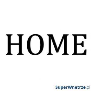 Napis na ścianę dekoracyjny DekoSign HOME osobne litery czarny - 2847798074