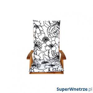LOVE GARDEN Poduszka na krzesło : Kolor - Black&White (Bawełna) - 2850246281